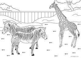 Zoo coloring pages are also quite popular with young children as they promise the sense of fun and adventure associated with the various wild animals. Free Printable Zoo Coloring Pages For Kids