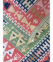 pink runner rug elegant kilim rug 2 6 4 7ft vintage runner rug oushak rug turkish rug