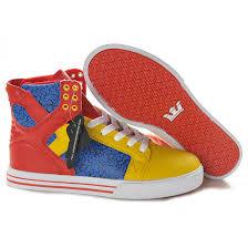 Supra Skytop High Men Skytop Blue Yellow Supra Shoe Size Chart