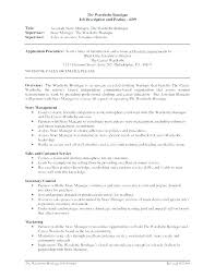 Examples Of Retail Resumes Awesome Retail Assistant Manager Responsibilities Resume Sample Resumes