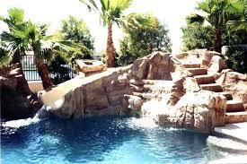 Pool Rock Slides Water Slides Pool Rock Slides In Ground Pools