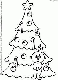 Kerstbomen Kleurplaat Kleurplaten 2490 Kleurplaat Kleurennet