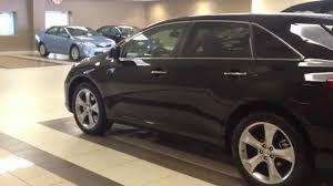 2012 Toyota Venza V6 AWD XLE Black walk around test drive - YouTube