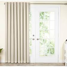 Balcony door curtains Glass Doors Quickview Wayfair Sliding Patio Door Curtains Wayfair