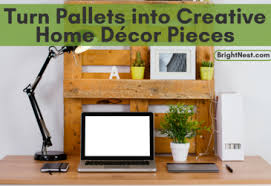 Small Picture BrightNest Turn Pallets into Creative Home Dcor Pieces