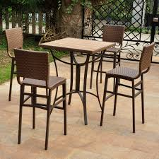 patio tables at alluring rattan bistro table and chairs