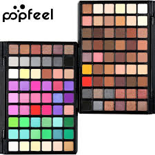 <b>POPFEEL</b> 54Colors <b>Eye Shadow Makeup Eye Shadow Shimmer</b> ...