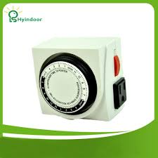 Dual Light Timer Ul Listed 24 Hour Dual Outlet Grounded Timer Switches