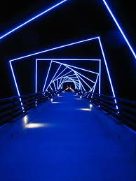 Tunnel of NEON lights Outdoors Pinterest Neon lighting and Neon