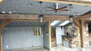 corrugated metal ceiling installation 7 8 corrugated roofing ten home design free