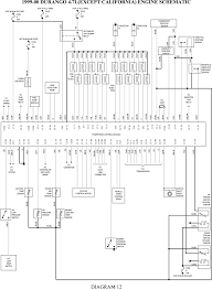 wiring diagram for a dodge dakota wiring wiring diagrams online 1999 00 durango 4 7l