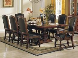 Dining Room Table Sets Leather Chairs Collection Interesting Ideas