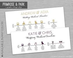 wedding day itinery wedding timeline cards wedding day itinerary wedding