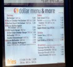 mcdonald s breakfast dollar menu. Brilliant Dollar Mcdonalds Breakfast Dollar Menu Intended Mcdonald S