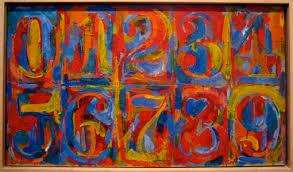 Jasper Johns Numbers - Art P.R.E.P.