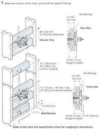 ada shower valve height height of shower valve how to install delta shower rough in valve ada shower valve
