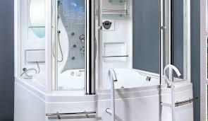 Shower  Imposing Fiberglass Tub Shower Combo Units Home Depot One Piece Fiberglass Tub Shower Combo