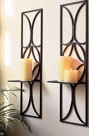 candle wall decor candle holders wall
