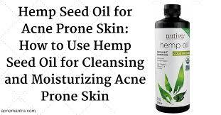 benefits hemp seed oil massage
