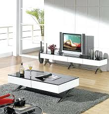 tv stand and coffee table sts set wood matching end tables
