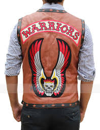 the warriors vest the warriors leather vest