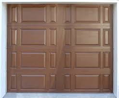 traditional style fiberglass garage doors