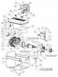 Powermate formerly coleman pm0606750 parts diagram for generator parts