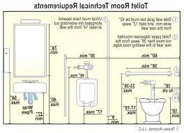 handicap toilet height of bathroom for interesting