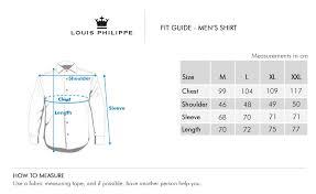 Louis Philippe Mens Cotton Casual Shirt Brown