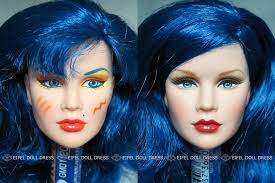 repaint fr jem and the holograms doll the misfits mary stormer phillips
