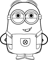 Small Picture Best Funny Minions Quotes And Picture Coloring Page