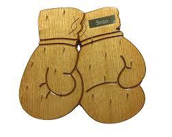 boxing gloves medal display