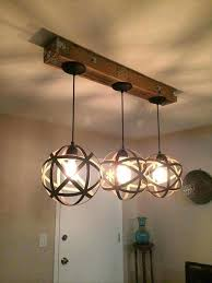 rustic country chandelier wrought iron chandeliers wooden hanging black with 3 orb neon lighting