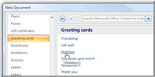 ms word 2007 template make your last minute holiday cards with microsoft word