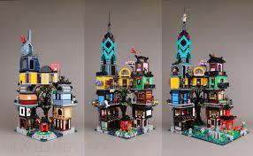 LEGO® 71741 NINJAGO® City Gardens interview: designer Markus Rollbühler |  New Elementary: LEGO® parts, sets and techniques