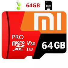 Sản Phẩm Ban Đầu + Miễn Phí + CODThẻ Micro SD Xiaomi Thẻ Nhớ 64GB Class 10  Thẻ TF EVO Plus MicroSD