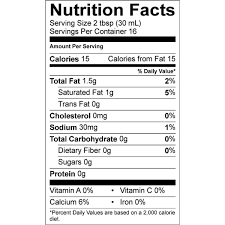 Calorie and nutritional information for a variety of types and serving sizes of half & half is shown below. Califia Farms Unsweetened Better Half Half Half
