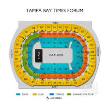 Amalie Arena Chart Actual Amalie Seating Chart 13 Best Of Amalie Arena Seating