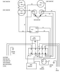 Electric motor capacitor wiring diagram depilacijame 10 hp standard 282 202 9210 or 9230 aim gallery