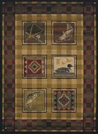 rustic cabin rugs lovely ideas about area on