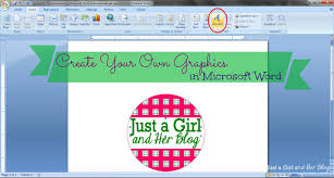 Create Your Own Graphics In Microsoft Word Abby Lawson Just A