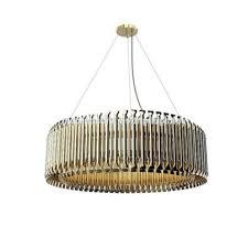 decorative pendant lighting. Decorative Pendant Lighting Big Tube Light Modern Golden Img H