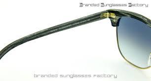 ray ban rb3016 clubmaster sunglasses grey ash wood frame grey grant lens 51mm