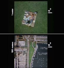 Charles and Ray Eames. Powers of Ten, 1977 (video stills); color