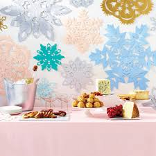 how to make the perfect paper snowflakes martha stewart