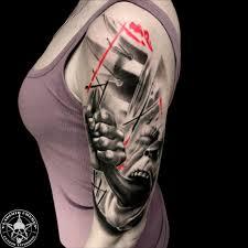 тату треш полька 60 фото татуировок на разных частях тела