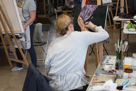 the art room offers art classes mentoring and works in footscray melbourne