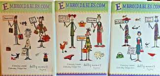 Embroidables Embroidery Designs Embroidables Com Machine Embroidery Cd Dolly Mamas 3 Choices