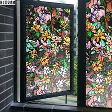 stain glass decal decal decorative window s frosted self adhesive stained glass window decals uk
