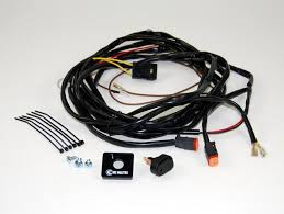 led, hid & halogen light wiring solutions & harnesses kc hilites KC Highlights wiring harness for two lights with 2 pin deutsch connectors kc 6308
